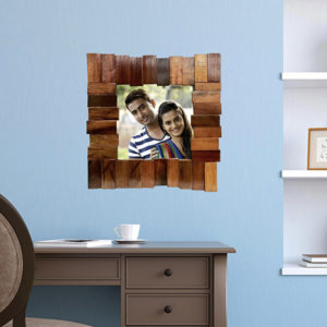"Wooden  Handcrafted (8X8)"" Photo Frame Square (TLS-WF-N01)"