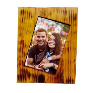 "Handcrafted Wooden (5X7)"" Photo Frame- (TLS-WF-CD01)"